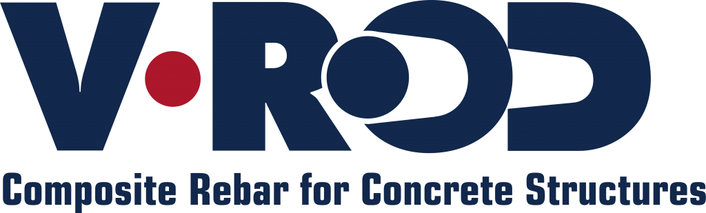 V-ROD composite rebar for concrete structures